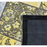 Patch Vintage Geel Grijs_