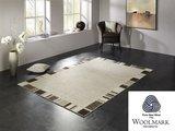 Wollen vloerkleed Wool Plus 470 Natur_