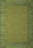 Groen hoogpolig vloerkleed Adriana Shaggy  1500/AY  _