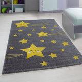 Kinderkamer tapijt Child 610/AY Geel_