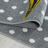 Kinderkamer tapijt Child 590/AY Geel_