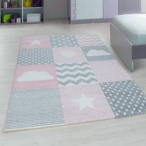 Kinderkamer tapijt Child 620/AY Pink