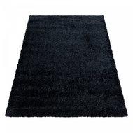 Vloerkleed-Prime-Shaggy-Zwart-4200