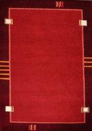Nepal-karpet-Plus-9284-Rood