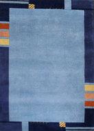 Wollen-karpet-Nepal-Plus-9295-Blauw