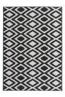 Buiten-en-binnen-tapijt-vloerkleed-Arrow-zwart-wit