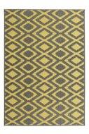 Geel-grijs-vloerkleed-Arrow-voor-binnen-en-buiten
