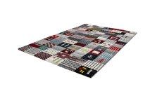 Ruit-vloerkleed-met-patchwork-motief-Bahraq-Grijs
