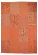 Patchwork-vloerkleed-Lira-Multicolor-oranje